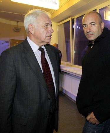 Сергей Толкунов и Игорь Крутой. Фото: Мила СТРИЖ