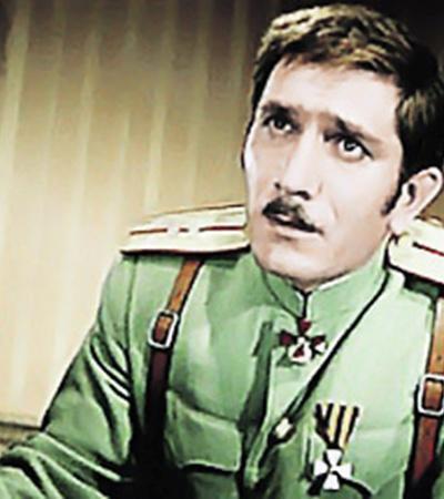 Штабс-капитан Овечкин в картине «Неуловимые мстители».