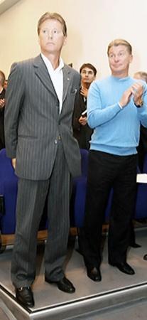 Леонид Иосифович и Олег Владимирович могут вместе руководить киевским клубом.