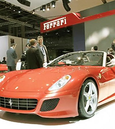 Ferrari 599 GTB. Они уже раскуплены.