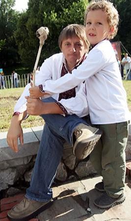 Игорь со своим сыном Иваном.