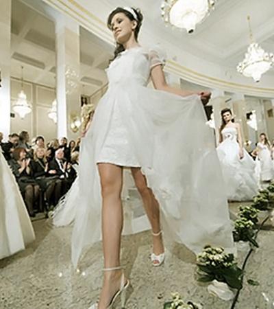 Показ белорусского дома моды на Неделе моды Беларуси.