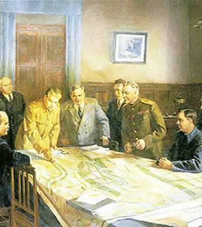 Товарищ Сталин не только военные операции планировал, но и карту мира перекраивал как хотел.