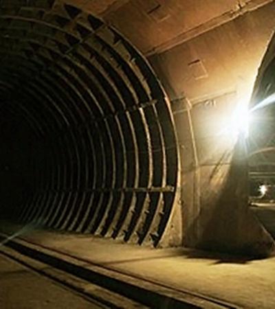 Подмосковный коллайдер сейчас - место для прогулок экстремалов.