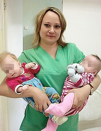Лилия работала в детской больнице, ухаживала за грудничками.