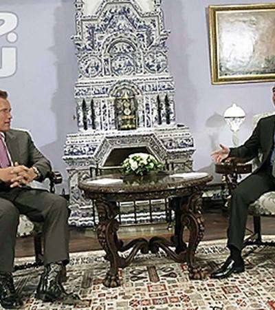 Президент РФ - губернатору Калифорнии: Принятие бюджета - ваша победа.