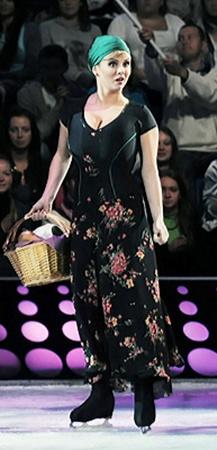 Аня Семенович ради шоу пила только фреш и чай.