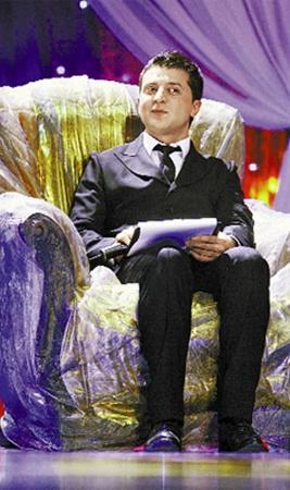 Дошутился! Скоро Зеленский займет кресло генерального продюсера телеканала.