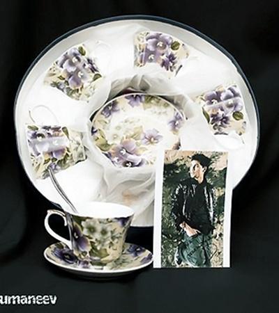 Чайный сервиз на шесть персон от Димы Билана.