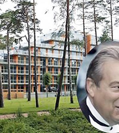Геннадий Хазанов с супругой часто проводят время в своей квартире на живописном курорте Латвии.