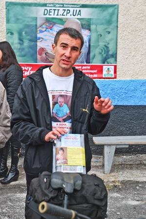 Ради спасения ребенка Антон проехал уже больше тысячи километров.