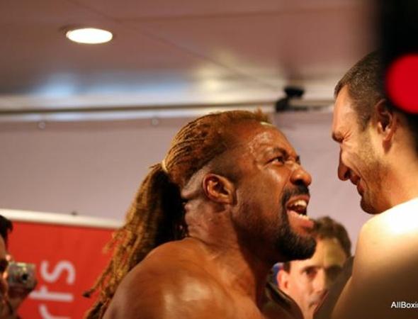 По словам экспертов Бриггс всегда был хорошим шоу-меном. Фото с сайта allboxing.ru