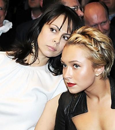 Наталья Кличко переживала за мужа в компании Хайден Панеттьери.
