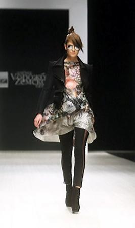 Модный образ лета-2011: леди-байкер от Земсковой-Ворожбит.