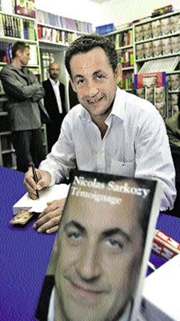 Саркози не столько читатель, сколько писатель: в 2006 году вышла его автобиография «Свидетельство».