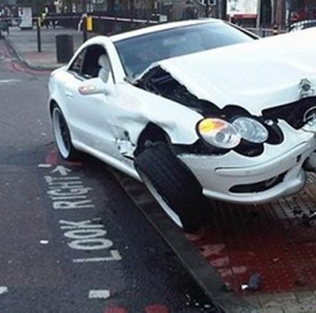 Хэй попал в аварию. фото с сайта Утро