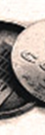 Шифровки разведчика Абеля в «центр» попадали вот в такой монете.
