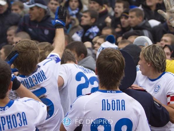 Фото www.fcdnipro.ua