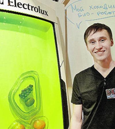Придумал уникальный агрегат дизайнер из России Юрий Дмитриев.