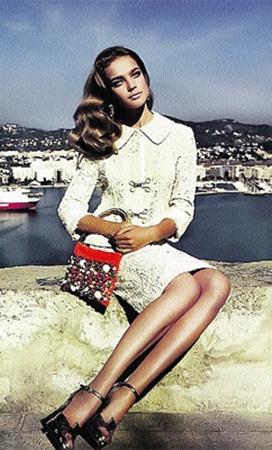 От России в  «сексуальный атлас Земли» попала леди Портман - она же супермодель Наталья Водянова.