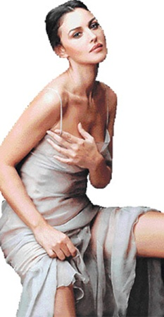 Самая желанная итальянка - неповторимая Моника Беллуччи.