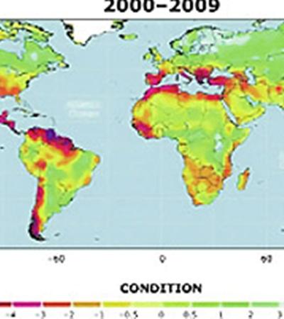 До 2009 года мир был еще цветущим и зеленым.