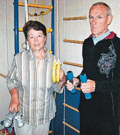 Тамара и Василий Мананниковы оборудовали для внука спортивную комнату. Но теперь она будет пустовать...