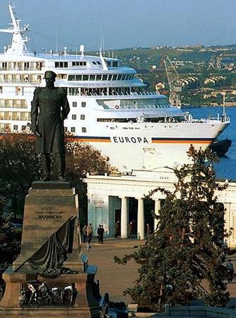 В Севастополе заходом пятизвездочного теплохода Europa, принадлежащего компании Costa Cruises, завершился круизный сезон