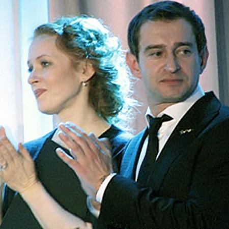 Вели церемонию Наталья Рогожкина и Константин Хабенский. Фото: Плешакова Анастасия.