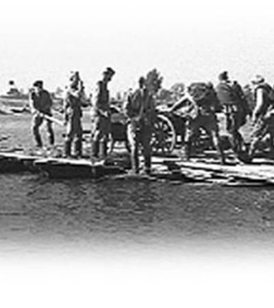 Сначала Днепр пытались форсировать на Букримском плацдарме.