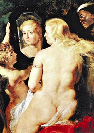 Венера перед зеркалом. 1615 г.