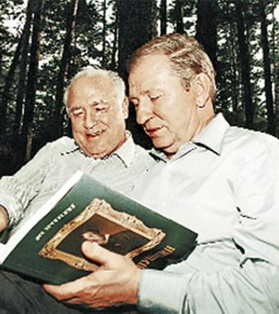 Леонид Данилович и Виктор Степанович сдружились еще когда были премьер-министрами.