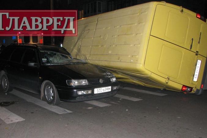 По словам свидетелей ДТП, «Богдан» двигался по улице Российской. Фото с сайта stolitsa.glavred.info.