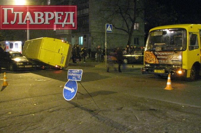 В результате ДТП водитель Mercedes получил травмы разной степени тяжести. Фото с сайта stolitsa.glavred.info
