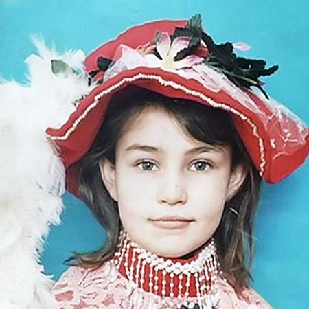 Красавица Екатерина на фото двухлетней давности.