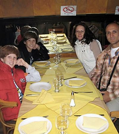 Семье Запольских пришлась по вкусу аргентинская кухня.