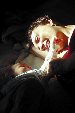 «Доброе утро». Автор - Григорий Поворознюк. «После того как у моей сестры родился маленький Давид, он и его мама стали для меня главными моделями».