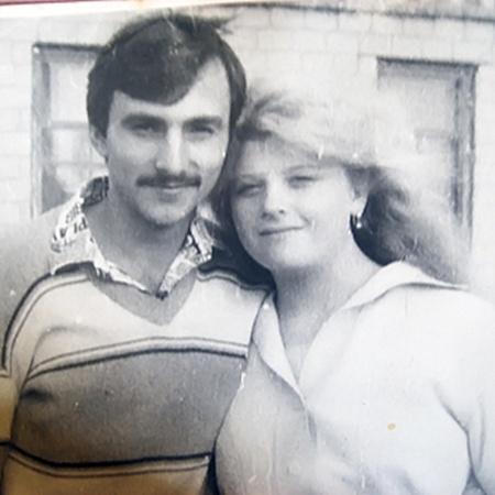 Молодые Анатолий и Нина Соляник.