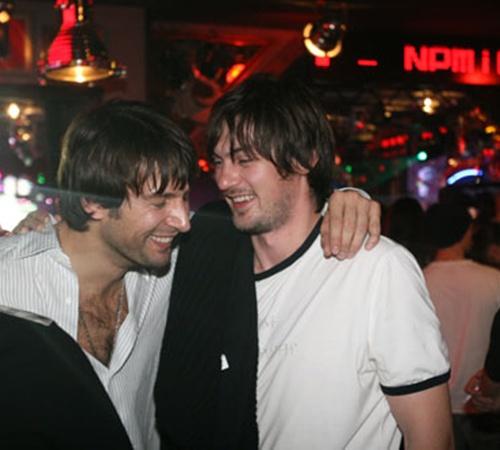 Шовковский (слева) и Милевский: оказывается, мы стрижемся у одного парикмахера.