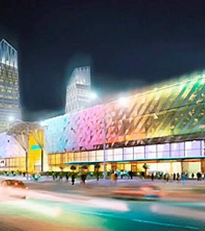 ТРЦ Ocean Plaza откроют в 2012 году.