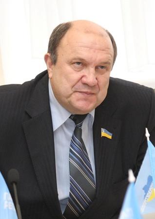 Анатолий Адамский - первый заместитель главы облсовета