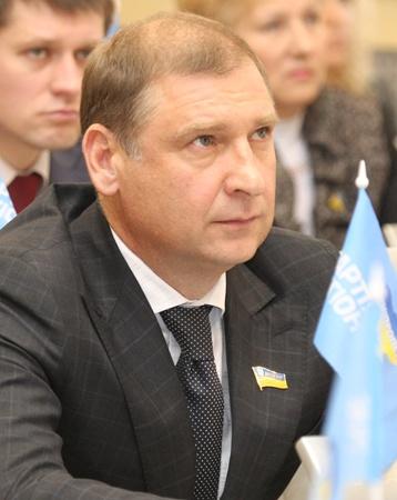 Виктор Науменко - заместитель главы облсовета