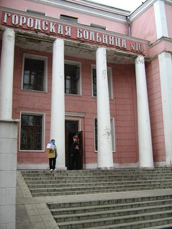 Судьба и самой больницы, и ее сотрудников и пациентов, покрыта неизвестностью.Фото автора.