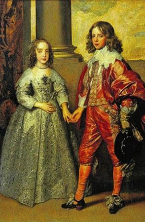 «Мария Стюарт и Вильгельм Оранский. Свадебный портрет» Ван Дейка мог оказаться среди затонувших полотен.