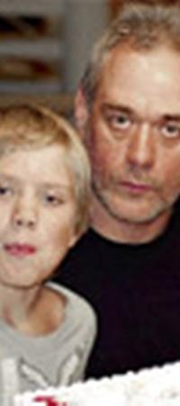 Сын Прохор на праздновании 51-летия отца (18 октября 2010 года).
