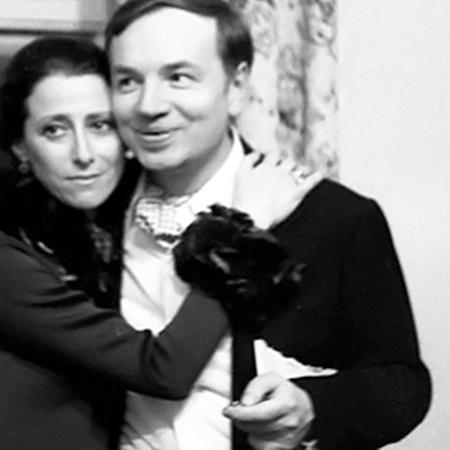 Майя Плисецкая и Андрей Вознесенский.