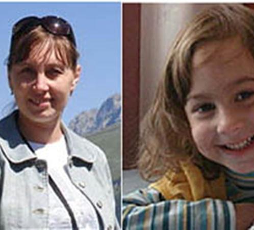 Погибшие Владимир Мироненко, его жена Марина и их дочки Ира и Алена.