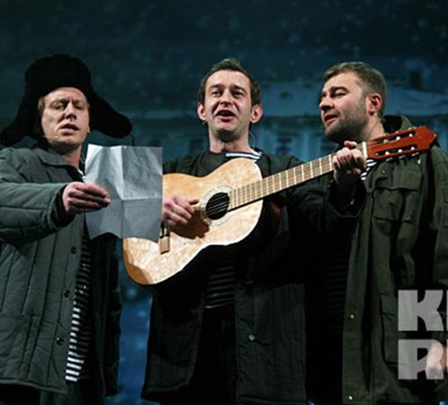 Хабенский, Пореченков и Трухин представились как «трое из Простоквашино».