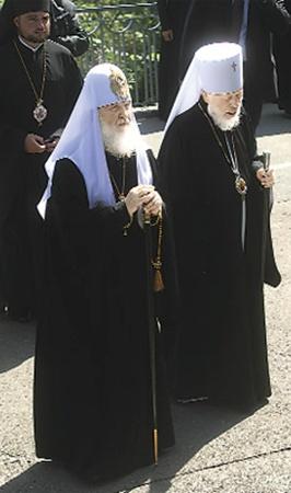 Патриарх Кирилл и митрополит Владимир последний раз виделись летом этого года.
