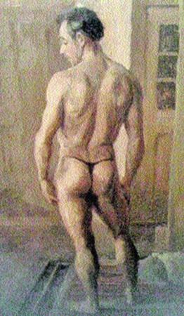 ...и сзади (на картине Рэба Вебстера).